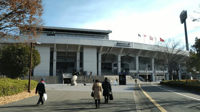 熊谷ラグビー場 バック正面