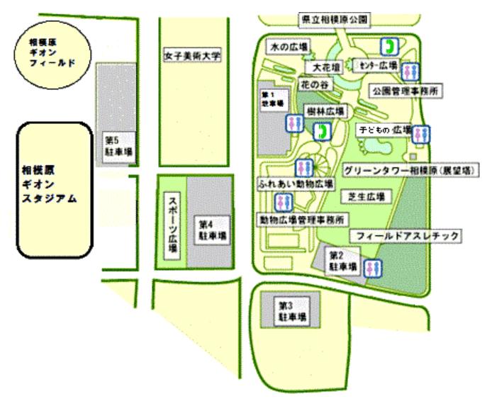 麻溝公園園内図